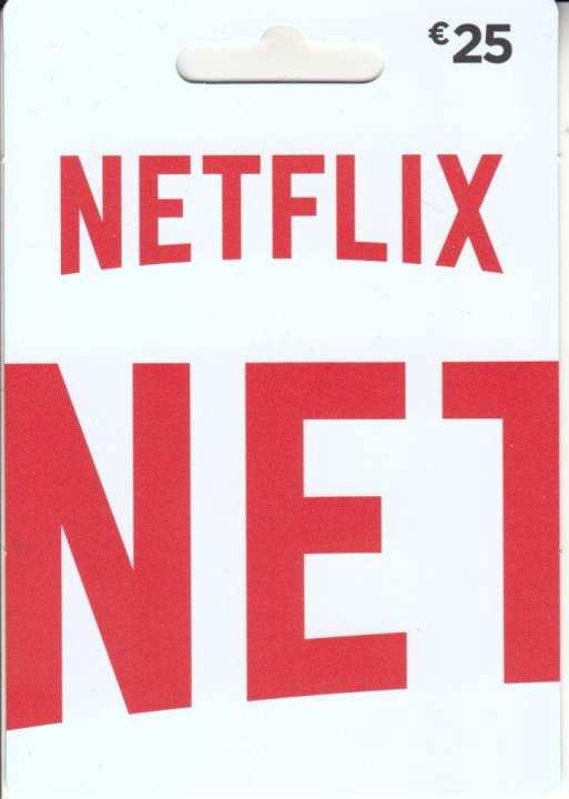 NETFLIX EUR15 GIFT CARD (DE)