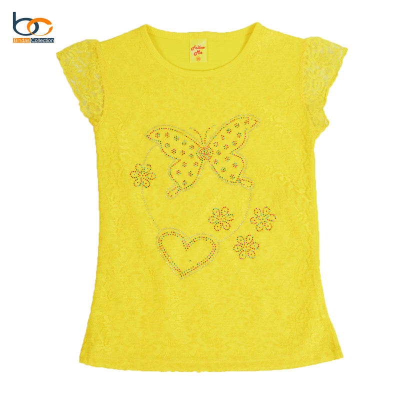 Summer Exclusive Lace Style Tops For Girls