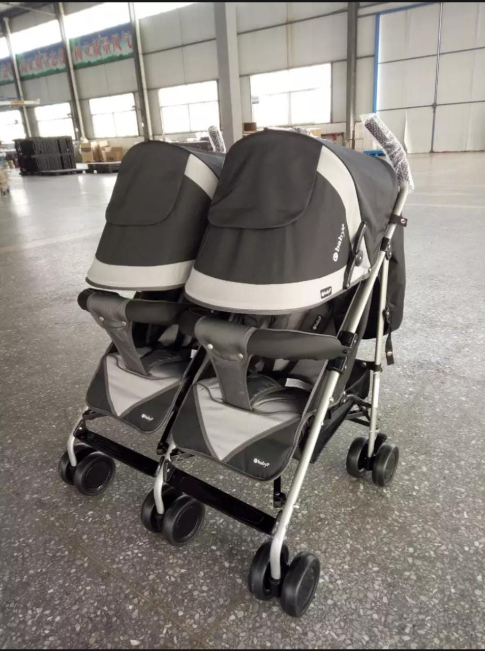 Imported e-Baby* Twins Baby Stroller