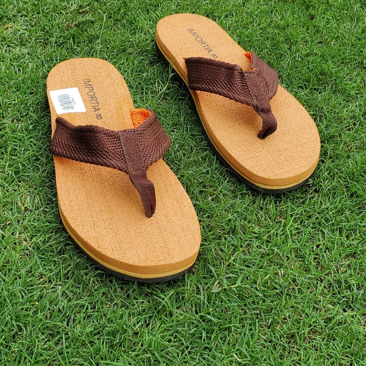 Brown Summer Flipflops/Slippers Casual Casual