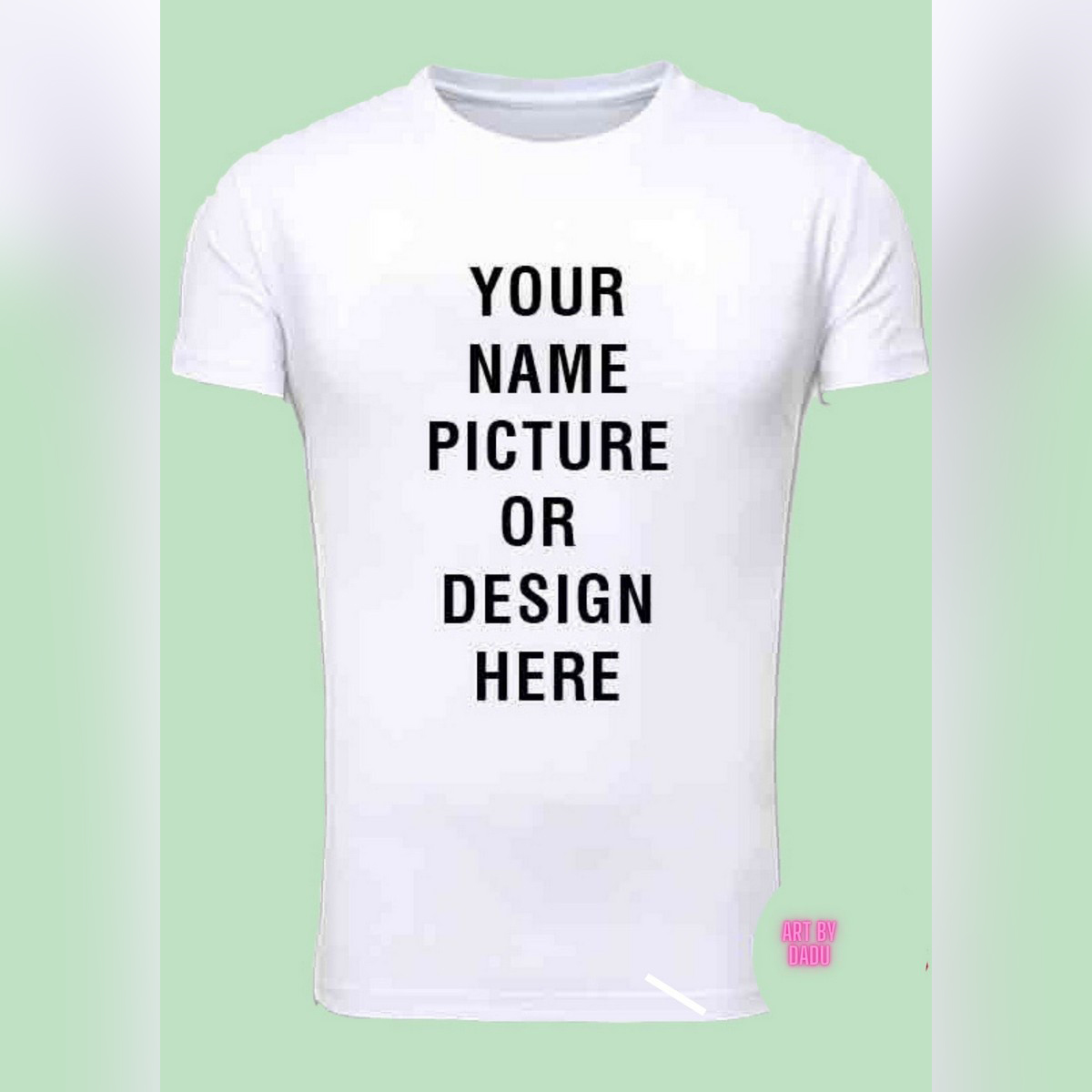 Customized T shirt for girl n boys with your Name, photo, quote or your favorite design. Best gift option with free surprise gift in package