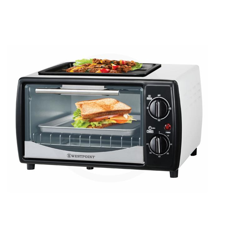 Westpoint Toaster Oven With Hot Plate