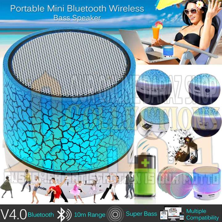 Bluetooth Speaker Portable For All Bluetooth Connectivity Devices-Multicolour