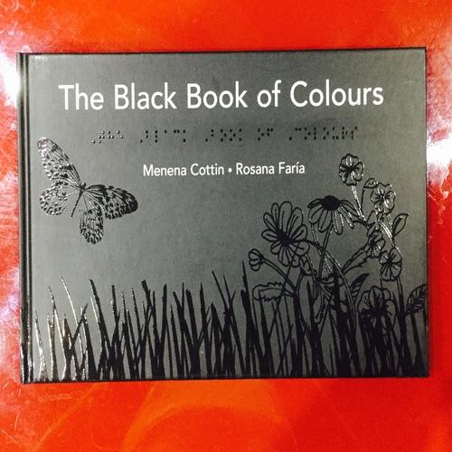 The black book of colours/Braille or tactile book for blind children/story  book for kids