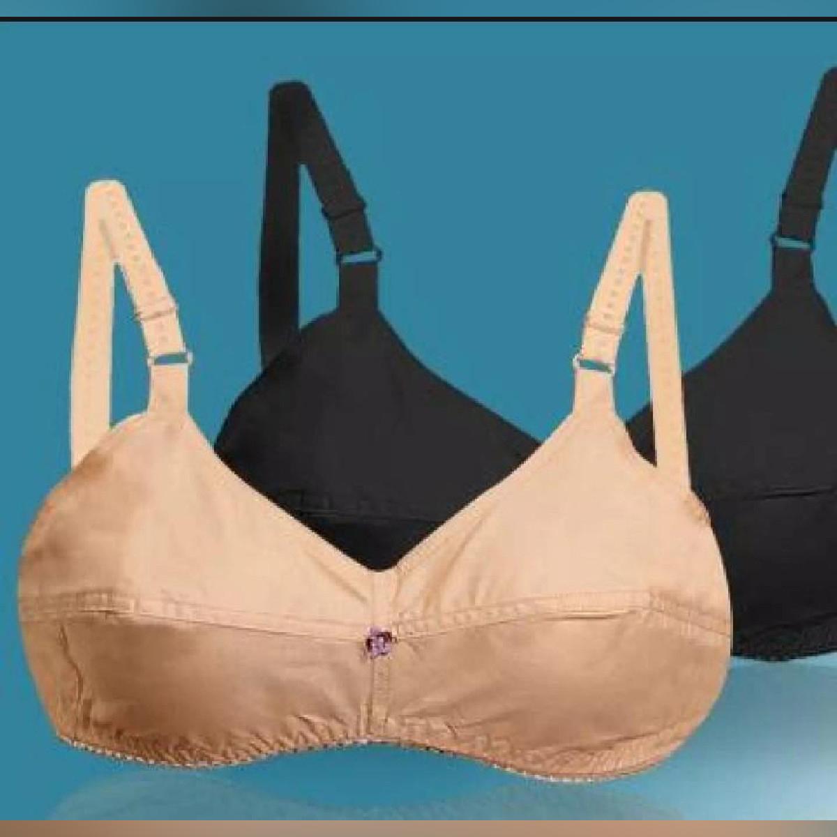 Ladies bra good cotton blouse brazier bras 32-42 size pack of 1