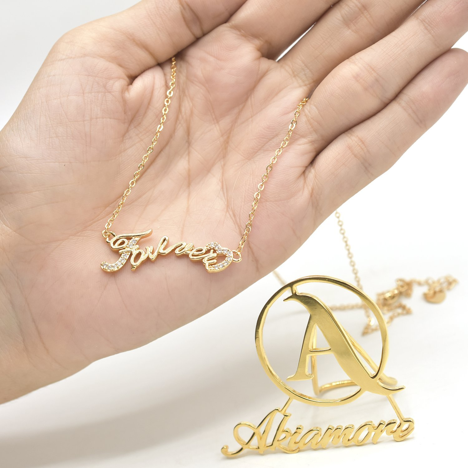 Fancy Pendent Necklace Wedding Engagement Party Charms Daily Wear Accessories for Women