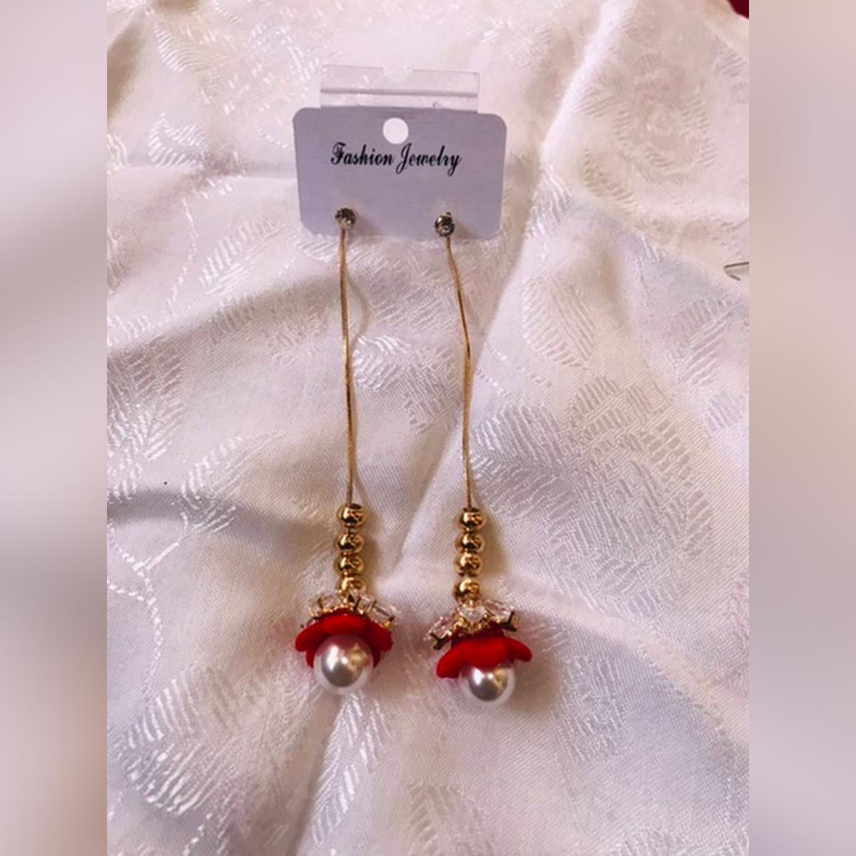 Fashion Jewelry long earring Pair Of Ear Cuff Long Chain Ear cuff Drop Earrings style Jewellery accessories for Women Trending Earrings for Girls High quality Long Drop earrings for Girls