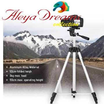 330 Big Tripod 5 Feet Mobile Stand For Mobile and Digital Camera Video Capturing by Aleya Dreams Collections - Origanal