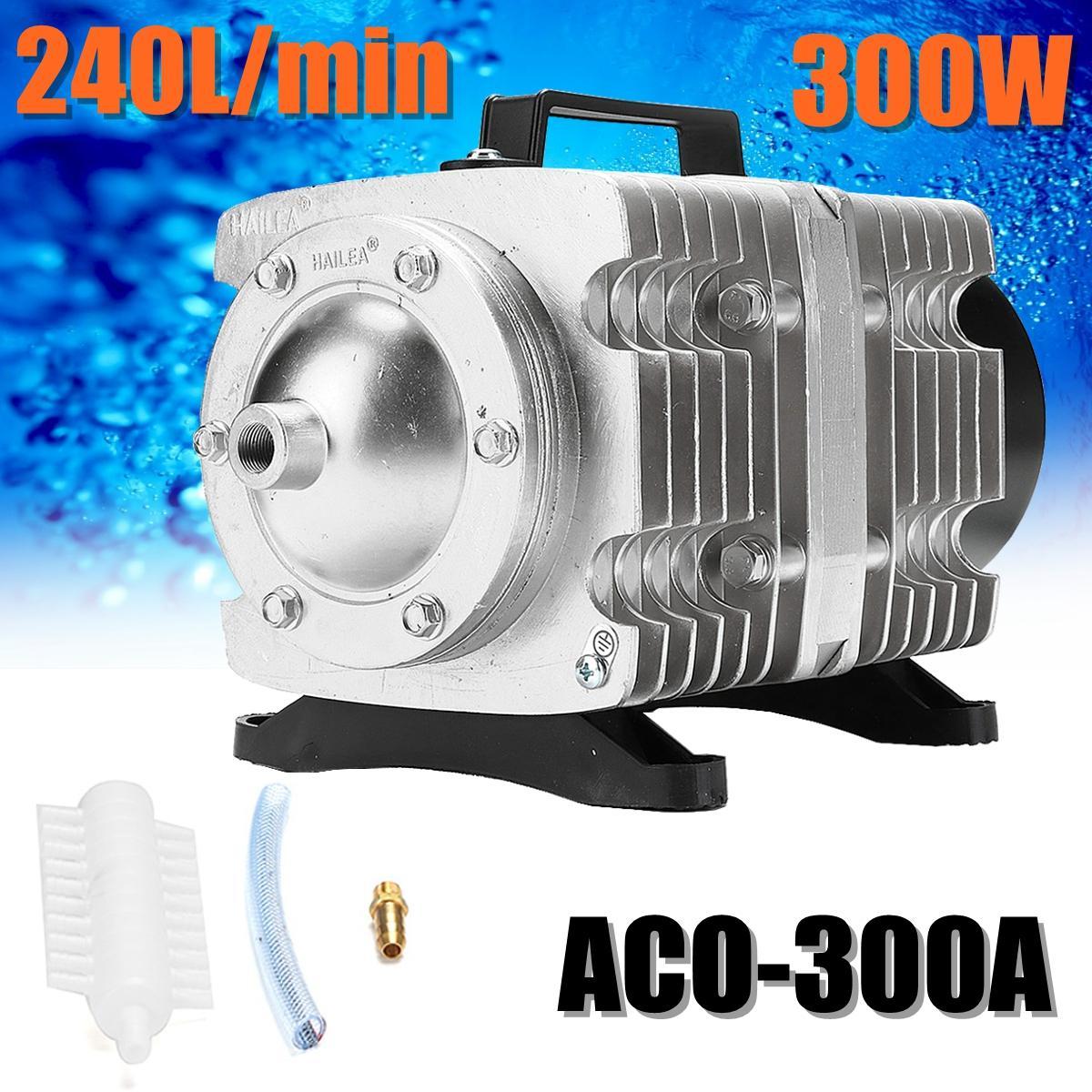 AC 220V Air Compressor ACO300A 0 04Mpa 300W Electromagnetic Aquarium Pump  Air Compressor