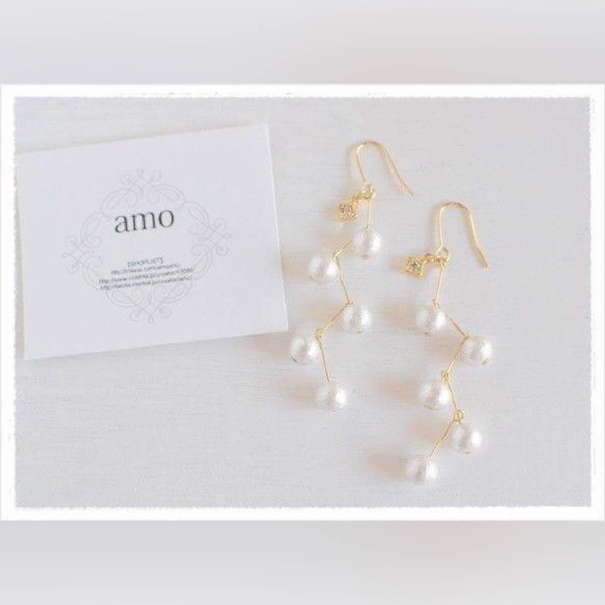 Pearls beads drop Earrings Best Deals 2020