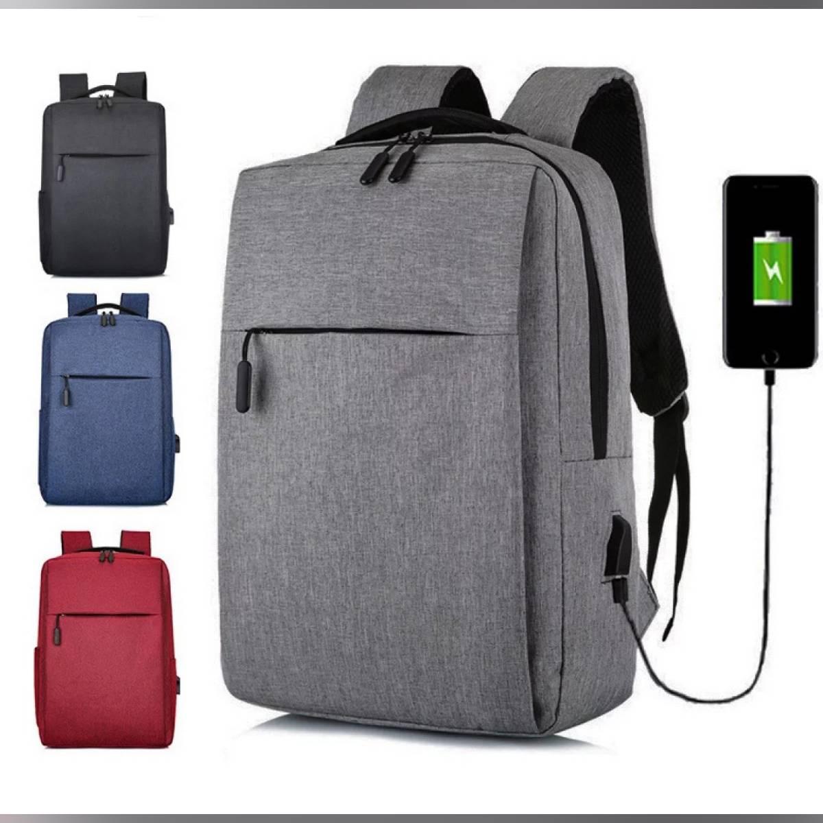 Business Laptop Backpack With USB Universal Charging Port, Travel Backpack, College Bag, University Backpack, Office backpack