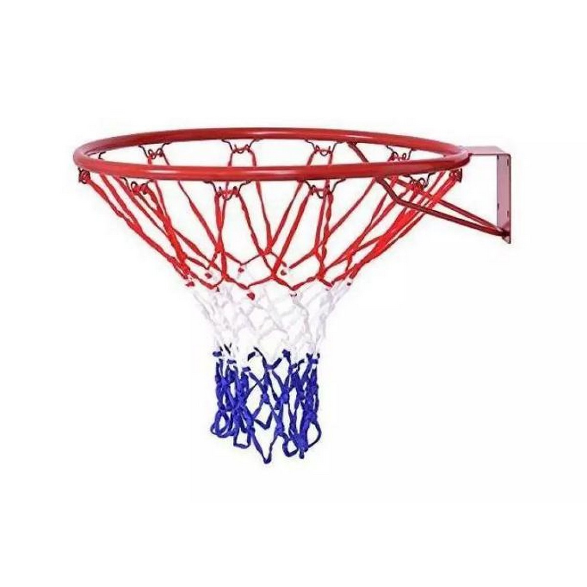 Basket Ball Net with Steel Ring - Multi Color