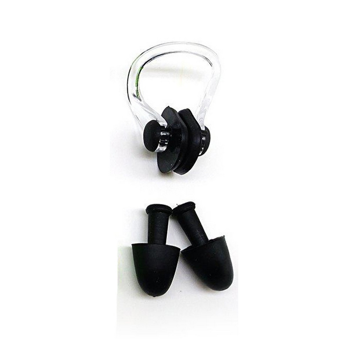 Soft Silicone Swimming Set Waterproof Nose Clip + Ear Plug Set