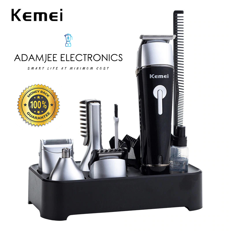 KM-1015 - 10 in 1 Hair Trimmer Hair Clipper Electric Shaver Beard Trimmer Men Styling Tools Shaving Machine