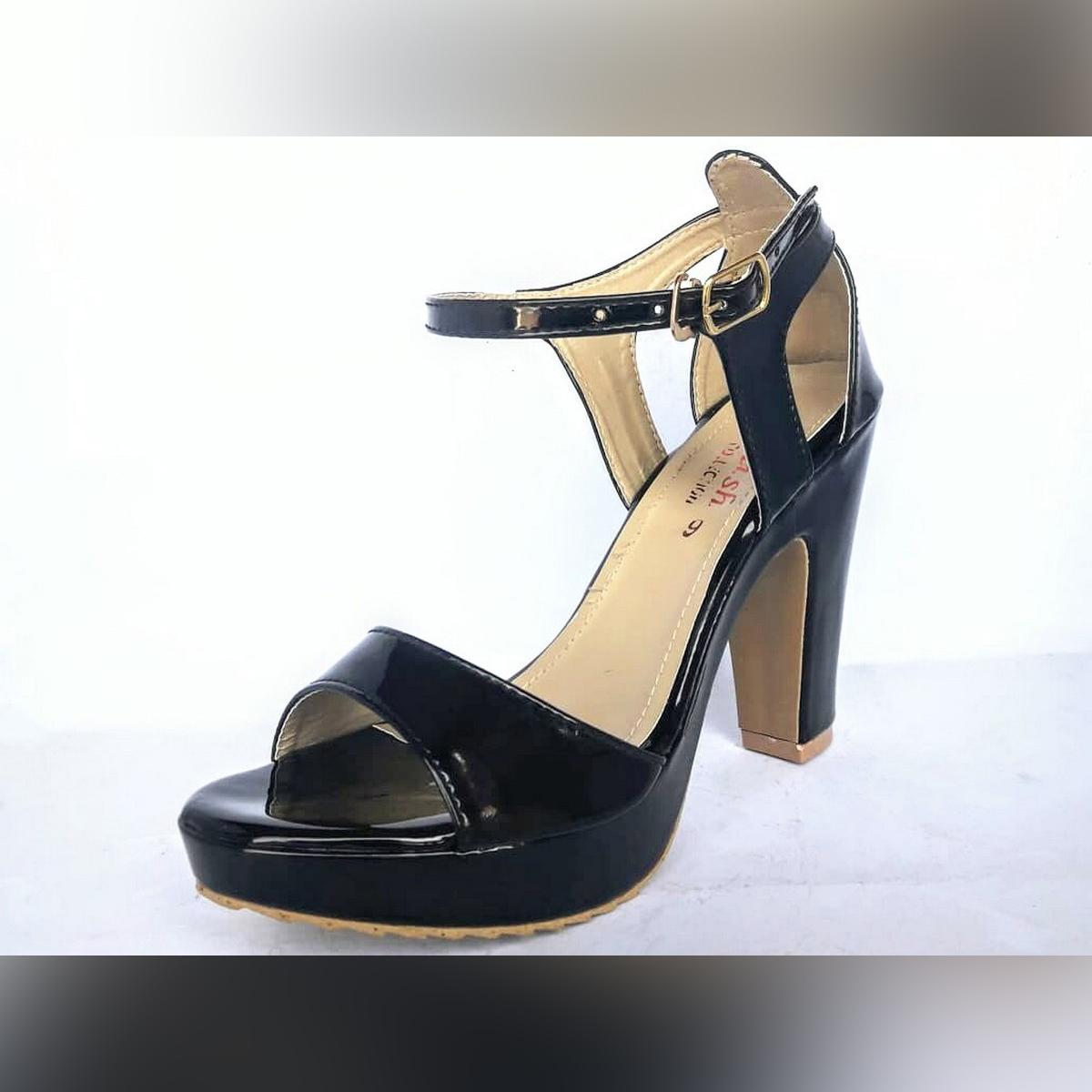 Stylish Sps-91 Platform Chunky High Heels Sandals For Women