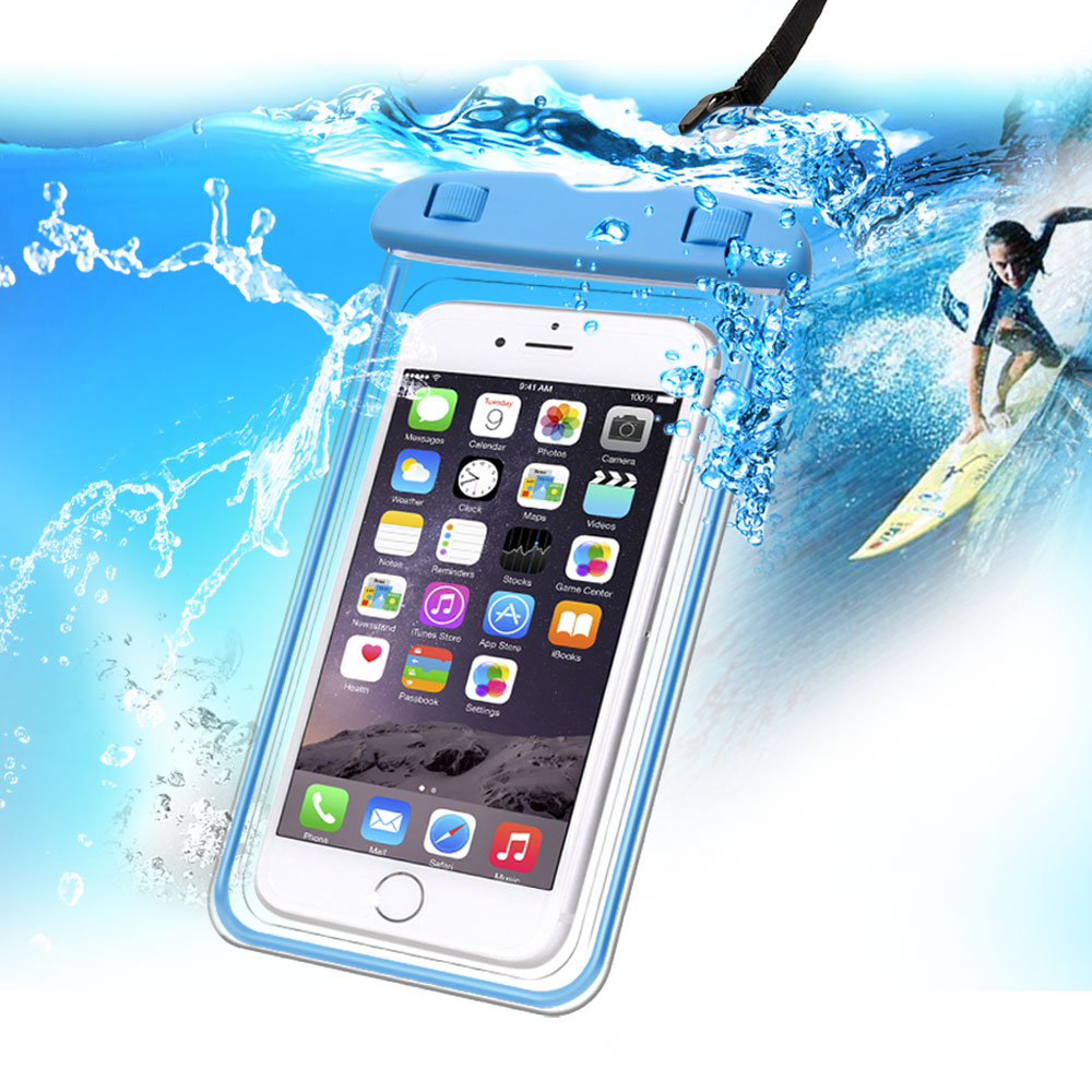 Universal Waterproof Mobile Pouch Case for IPhone Android - Water Proof Cover Bag Mobile Phone Protector