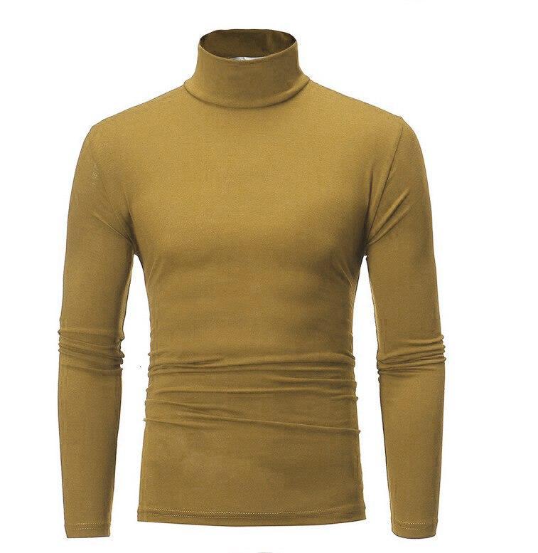 Womens/Mens Winter Warm Long Sleeve Fleece High Neck Pullover Top