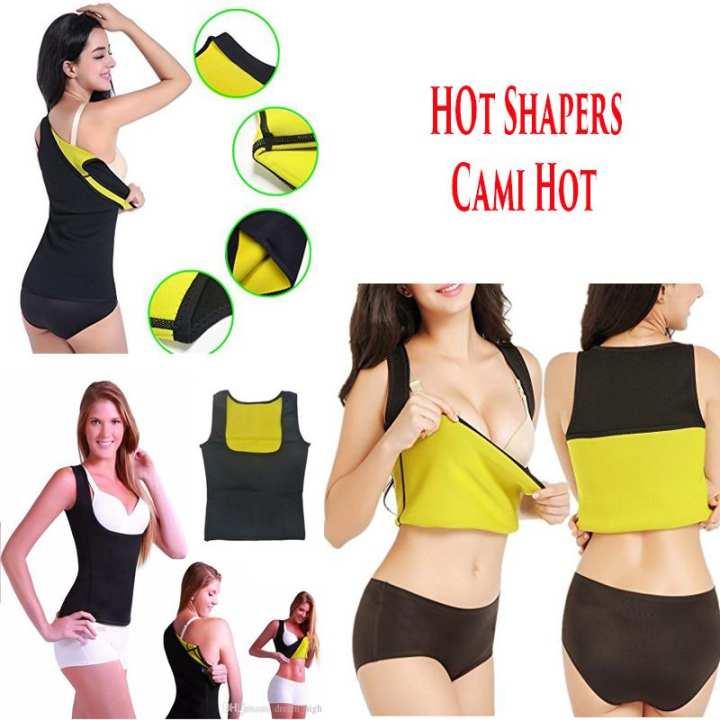 Cami Hot Women Hot Sweat Body Shaper Slimming Neoprene Shirt Vest Thermo Yoga Sauna Fat Burner Waist Shaper Trainer Cincher