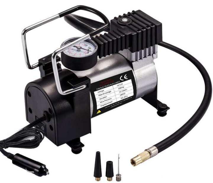 12V DC Portable Auto Air Compressor