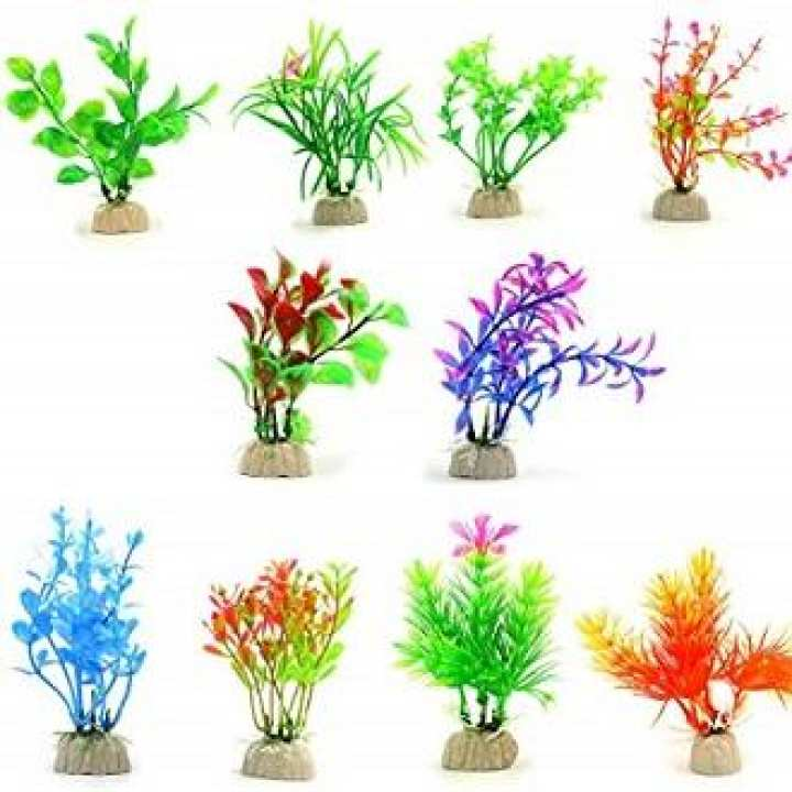 Decoration Plants fo Aquarium Pack of 01 (BUNCH)