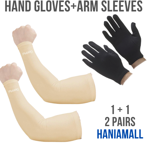 Hand and Full long Arm Sleeves Gloves for Bikers Riders Cars Men Women Summer Special Multi Color