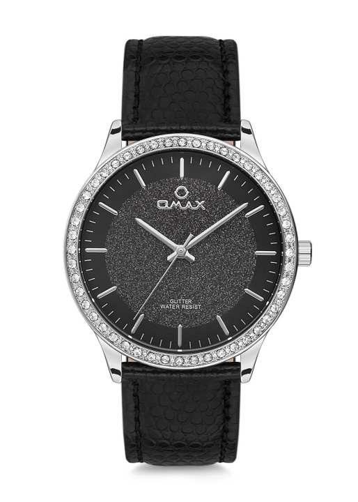 GT002P22l-Omax Ladies Leather Strap Wrist Watch
