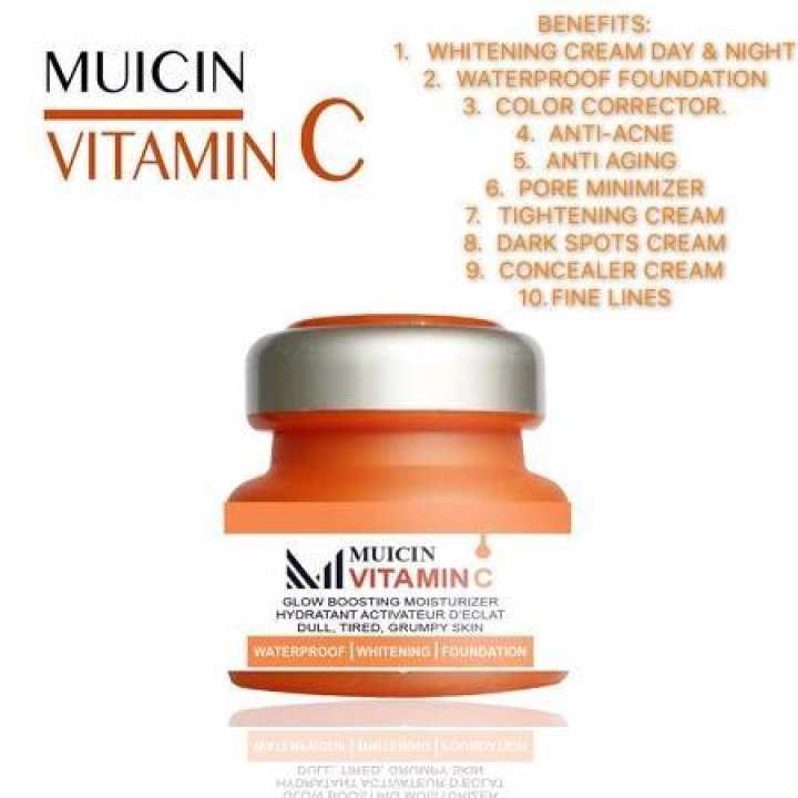 Muicin Defence Cream Vitamin C Whitening base