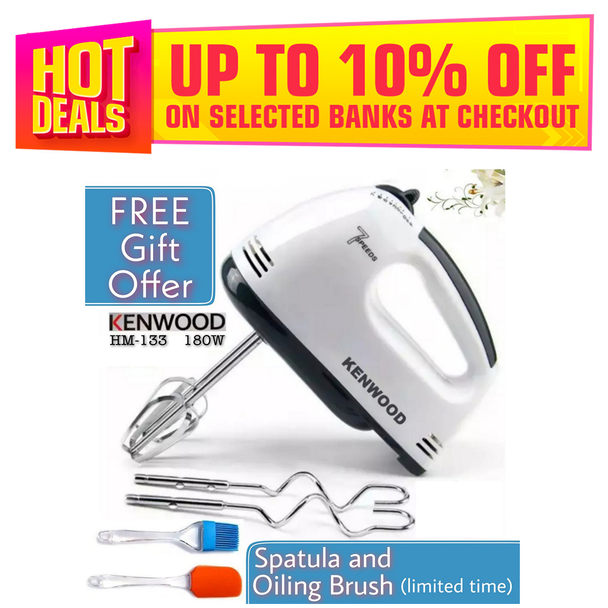 Electric Hand Beater Machine Hand Blender Hand Mixer Egg Beater Cream Egg Electric Beater Mixer For Cake