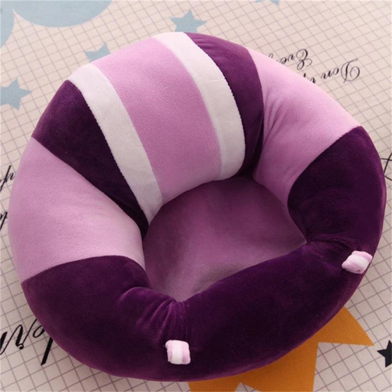 Baby Support Seat Plush Soft Baby Sofa Infant Learning To Sit Chair Soft Comfortable Baby Sofa For Baby