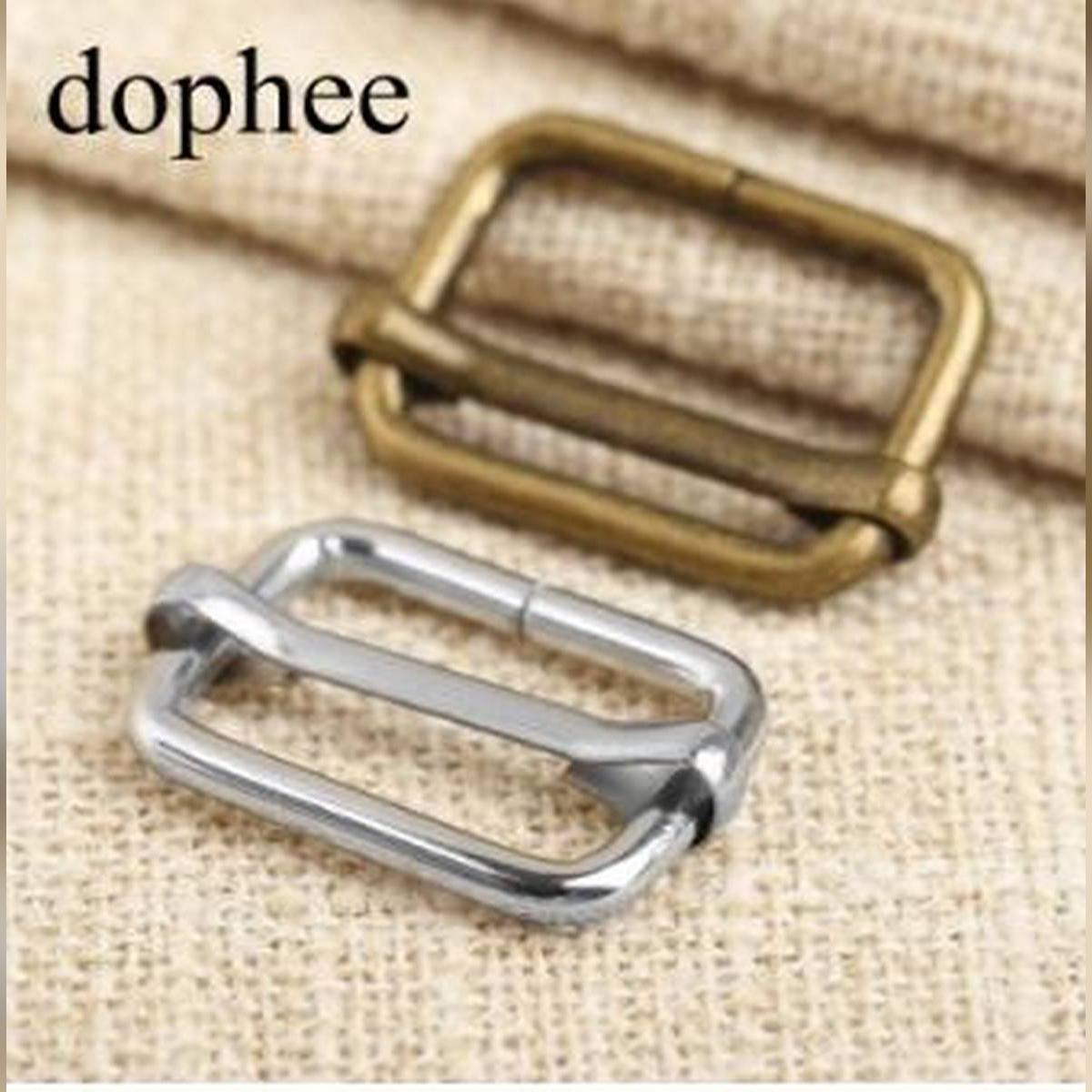 20pcs Metal adjustable square ring buckles garment belt DIY Needlework Luggage Sewing handmade Bag purse