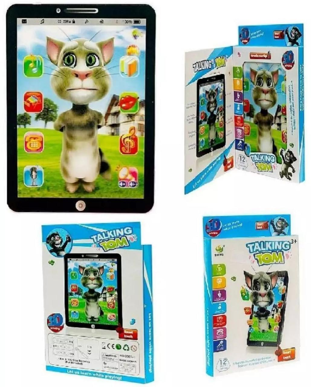 Talking Tom Interactive Learning Educational Tablet for Kids