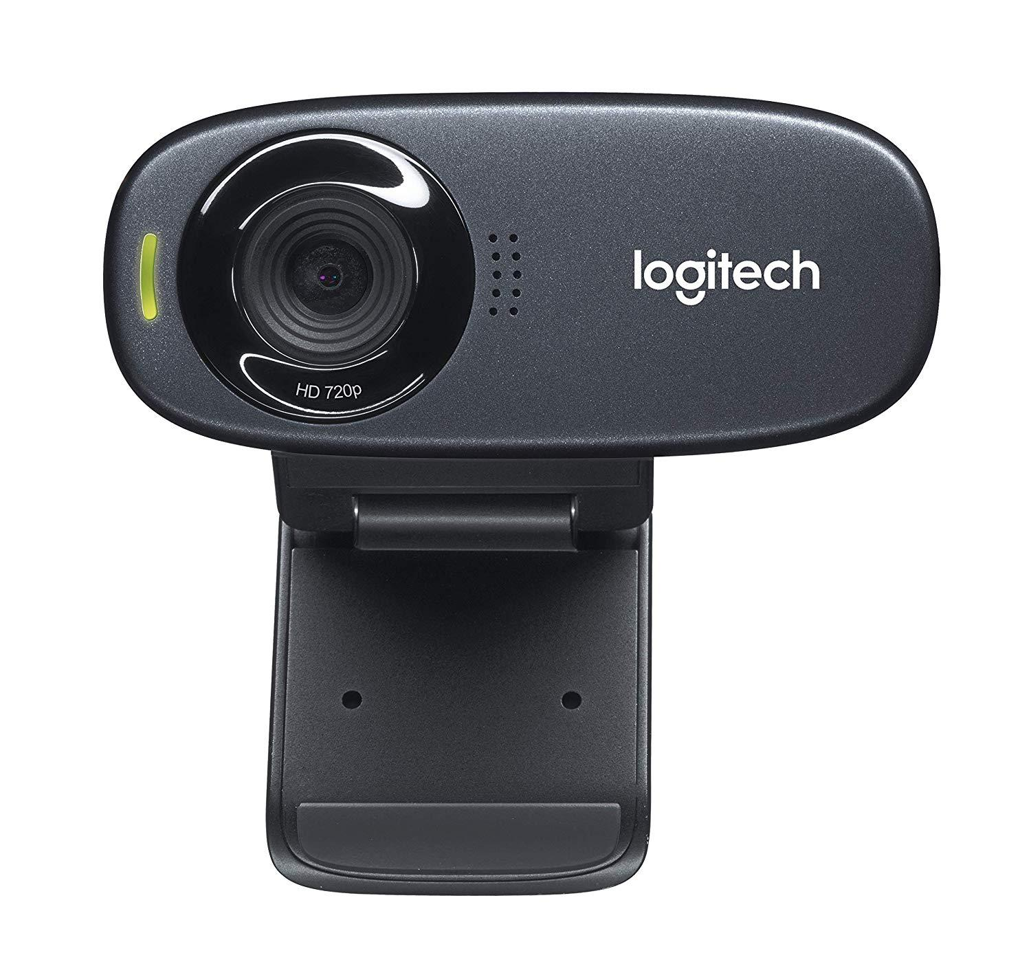 Logitech C310 - HD 720p Webcam - Sturdy Design