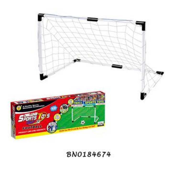 Deluxe-sport-toys-set-football-goal-  (1 x football ,  1 x pump),