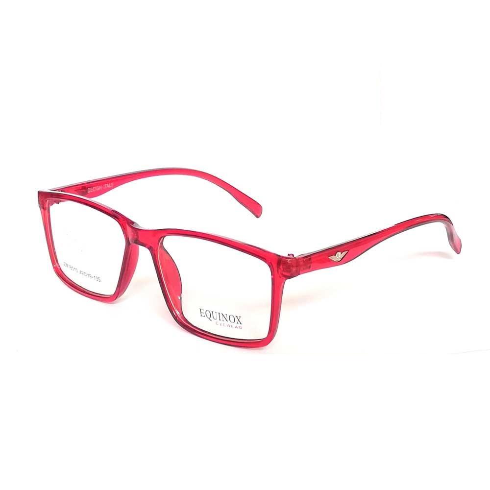 Rangeen Eyesight Frame Glasses for Men/Women Red