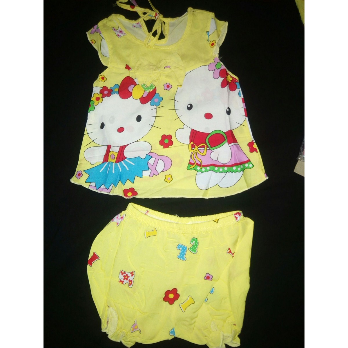 Baby Summer frock in imported lilen fabric