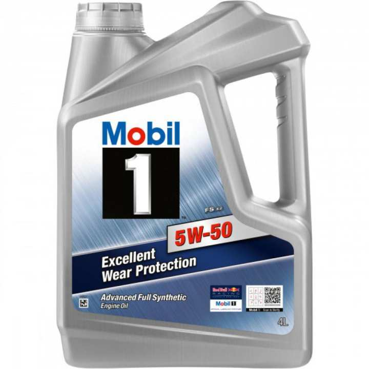 Mobil 1 5W-50 Advanced Full Synthetic Motor Oil By ExxonMobil Singapore 4 LTR