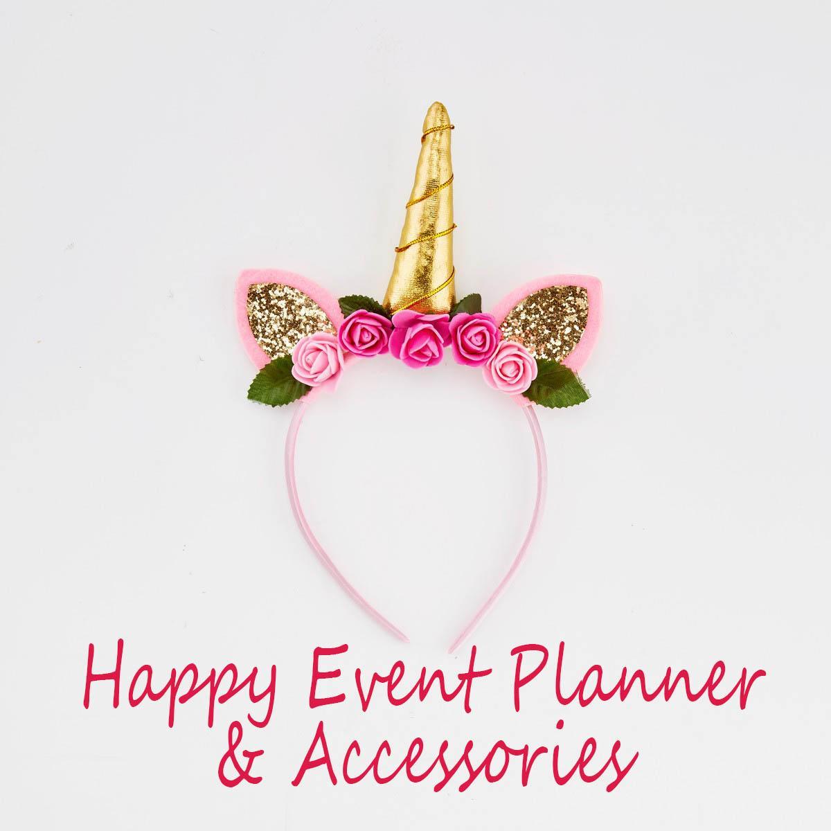 Cute Party Decorative Unicorn Flower Hairband Kids Girls Headbands Head wear