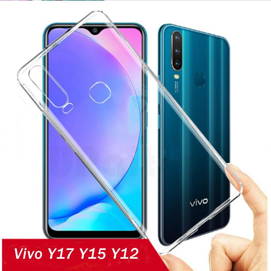 Vivo_Y15 Vivo_Y17 Vivo_Y12 Back Cover Case - HD Transparent Case - Vivo_Y17 Y15 Y12
