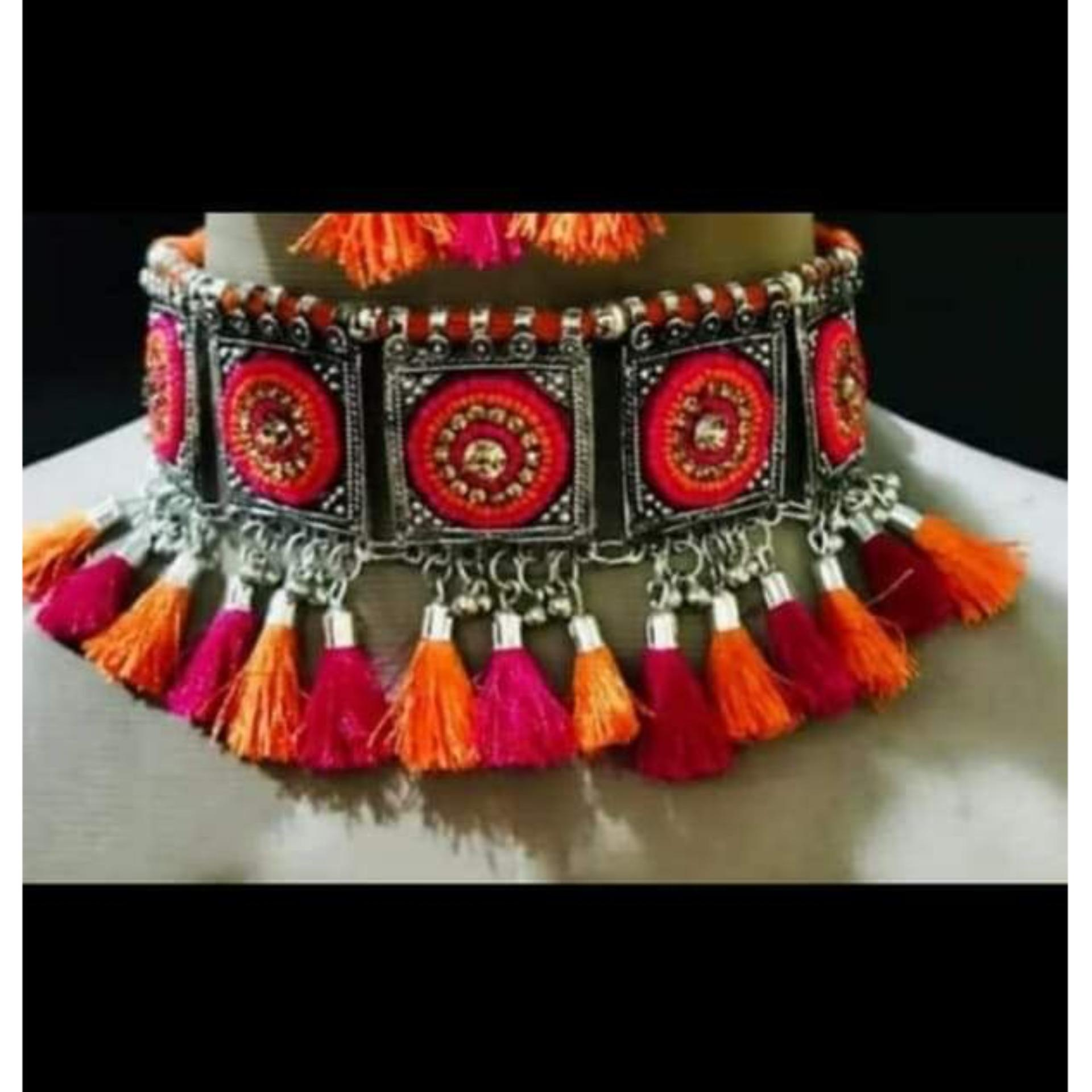 Attractive Dual colored Traditional choker for Girls and women