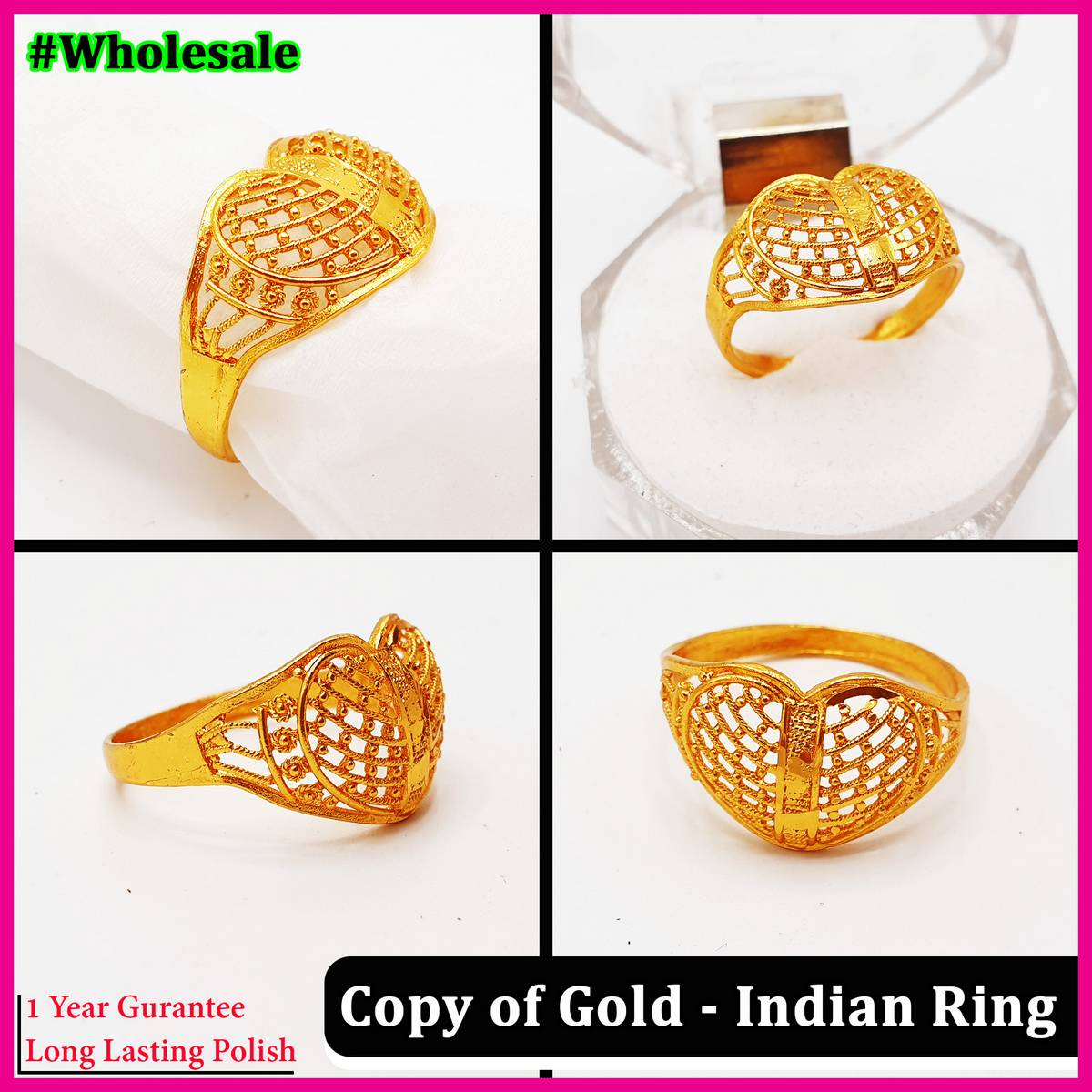 Indian Trendy Stylish Ring for Girls - 753