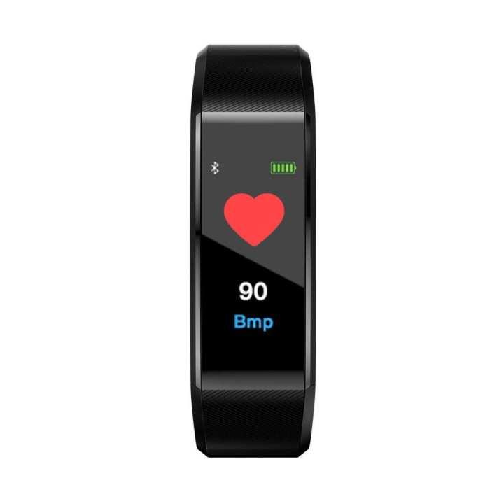 115PLUS Bluetooth Smart Band Waterproof Heart Rate Monitor Sports Pedometer