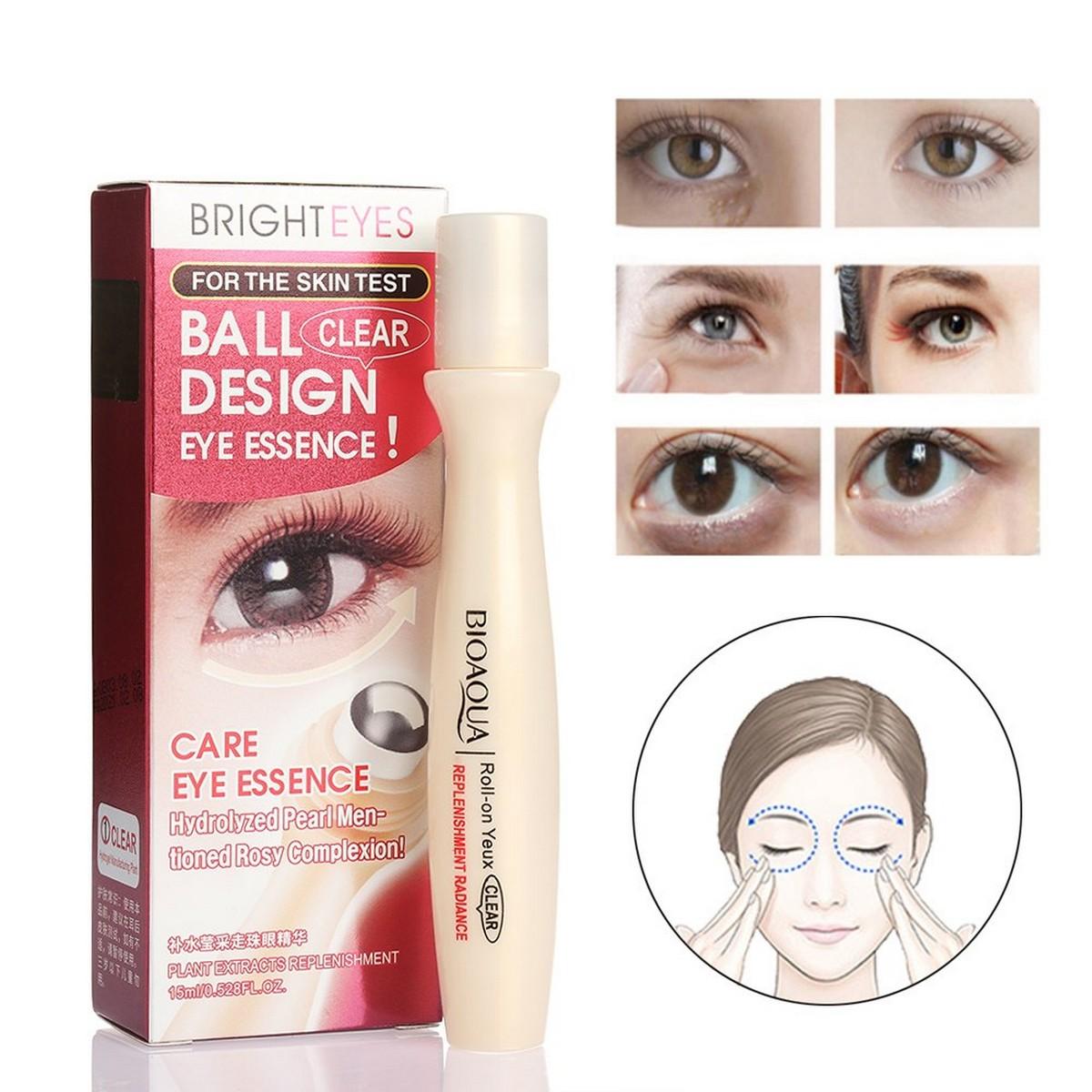 Roll Ball Eye Anti Wrinkle Remove Dark Circles Moisturizing Eye Cream