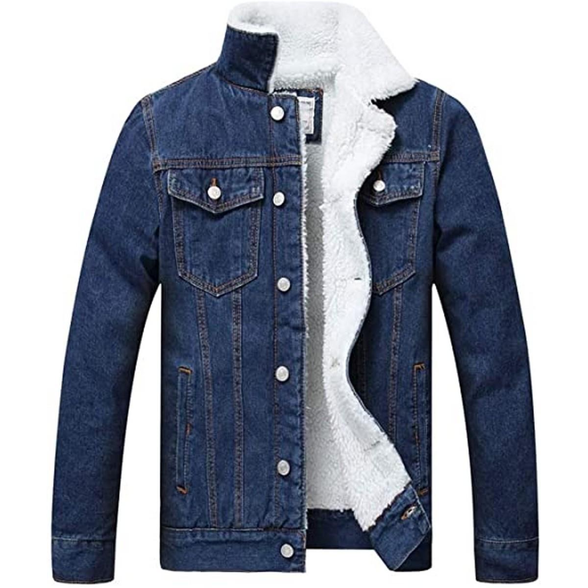 Stylish Denim Blue Jacket For Men JK-001