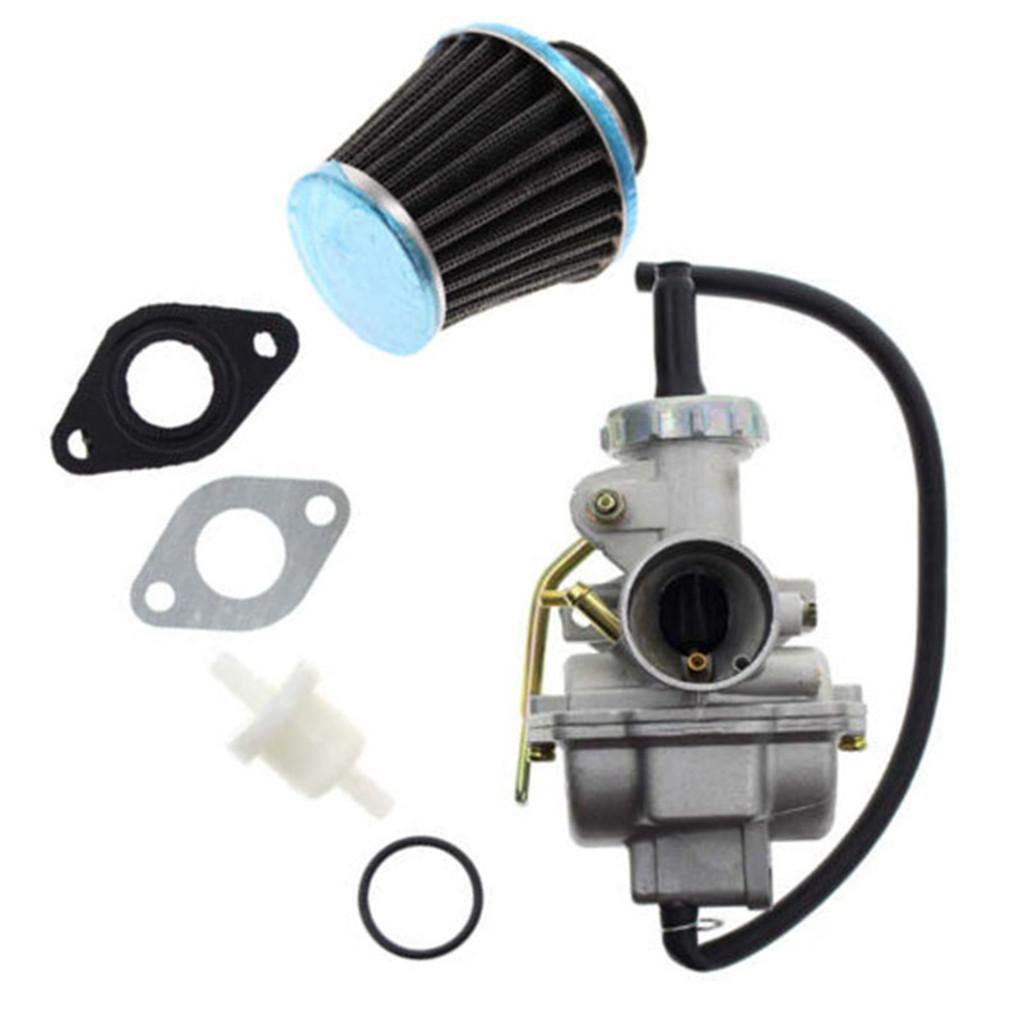 PZ20 Carburetor for Kazuma Baja 50cc 70cc 90cc 110cc 125cc with Air Fuel  Filter