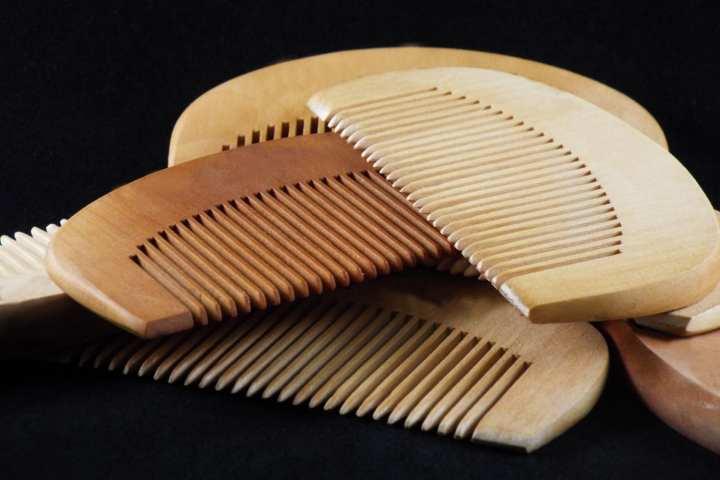 Natural Wood Comb Peach Wood no-static Massage Hair Health Comb