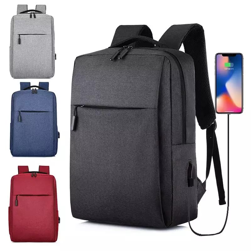 Backpack For Boys - 15.6-Inch Laptop and Casual Backpack - Laptop Backpack for Men with USB Charging Cable - Business Travel Bag Pack A stylish & High-quality bag that enhances your lifestyle! Outdoor Travel Bag for Men/Women/College/Teen Durable, Light W