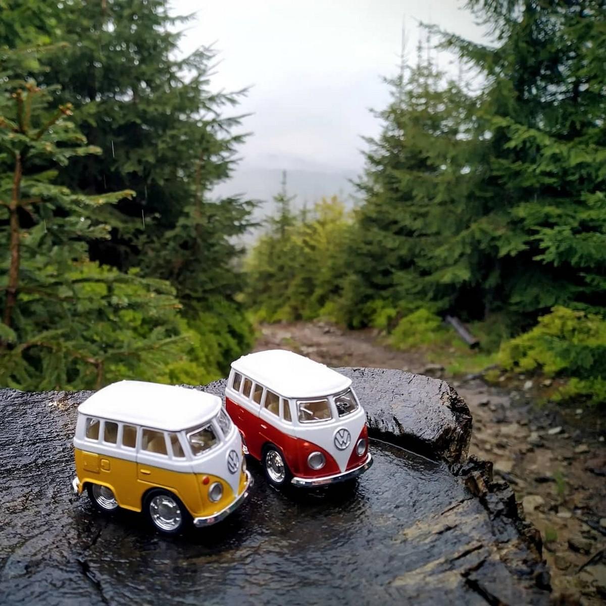 Volkswagen Little Model Car  Diecast Assortments by Kinsfun/kinsmart pull back action