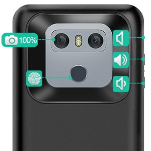 Mobile Accessories - LG G6 Battery Case 5000mAh in Pakistan for Rs