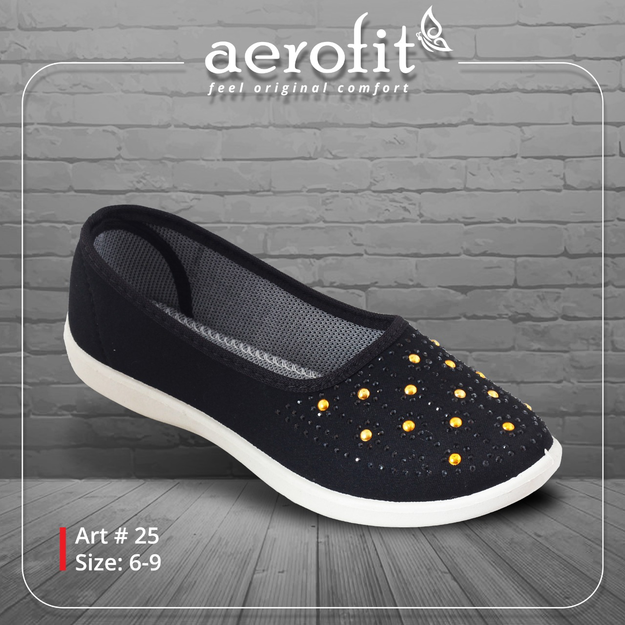 Baby Black Pearl Studded Canvas Shoes