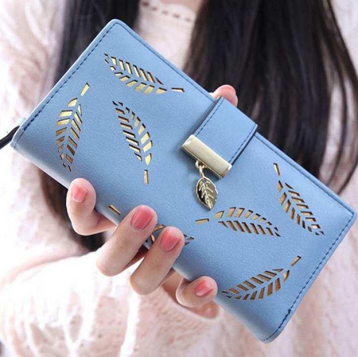 Women Wallets Long Clutch Purse Card Holder Bifold Ladies Wallet